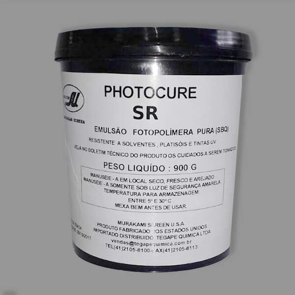 Emulsão serigráfica - Murakami PhotocureSR - Emulsão fotopolímera pura