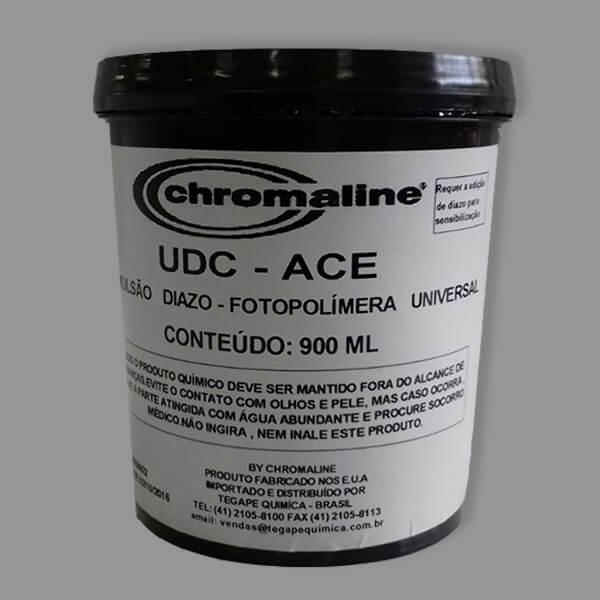 Emulsão serigráfica - Chromaline UDC-ACE é uma emulsão universal de altíssima qualidade para altas tiragens.