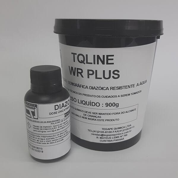 Emulsão a base de água - TQ Line WR Plus - Emulsão a base de água diazóica de alta definição, resistente à água e a plastisóis.