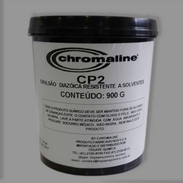 Emulsão serigráfica diazóica - Chromaline CP2 de rápida exposição, alta durabilidade e resistência.