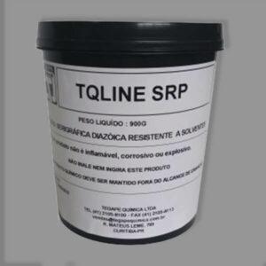 Emulsão serigráfica - TQ Line SRP. Emulsão diazóica econômica, resistente a solventes.