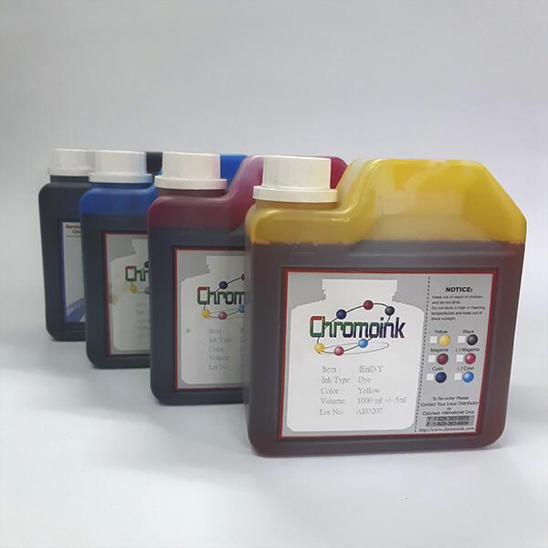 Tinta a base de água Dye Chromo Ink IEnD - P/ impressoras jato de tinta