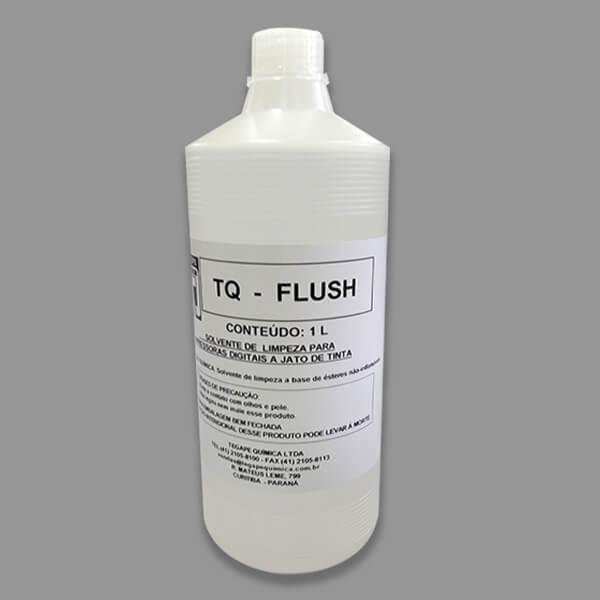Solvente de limpeza para impressoras a base de tintas solventes