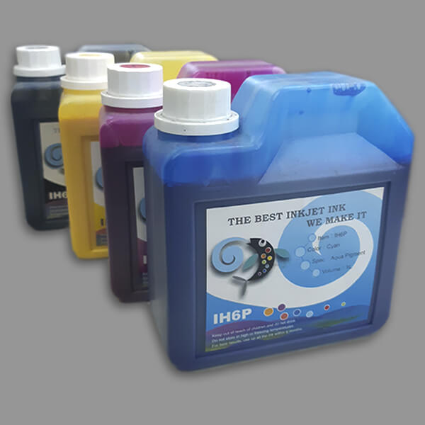 Tinta a base de água Pigmentada Chromo Ink IH6P