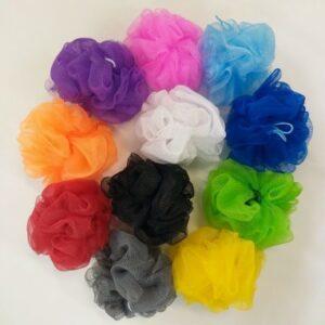 Esponja de banho - cores sortidas
